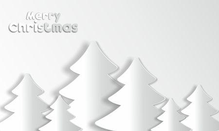 Merry Christmas Card vectorillustratie