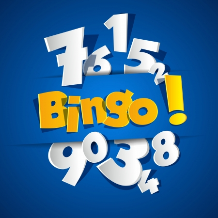 Creative Bingo vector illustration 일러스트