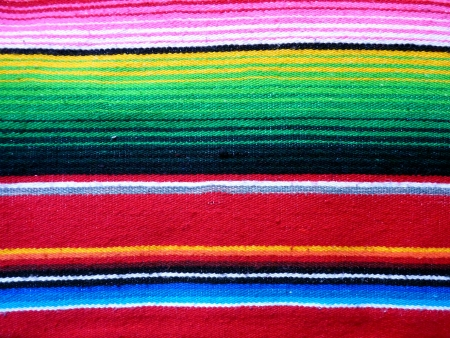 Colorful Mexican Poncho Background photo