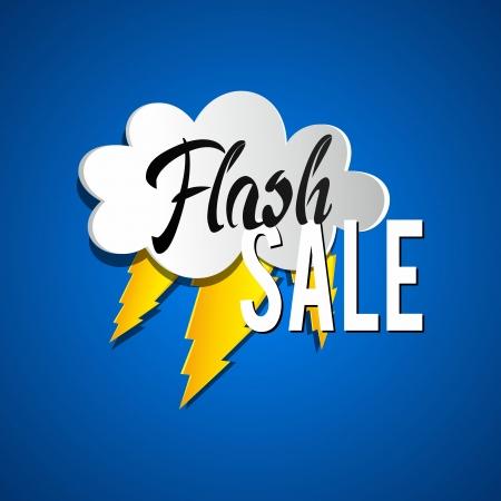 clearance: Flash Sale vector illustration Illustration