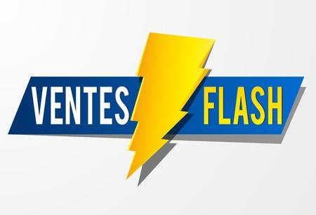Flash Sale vector illustration 일러스트