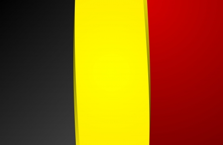 belgium flag: Creative Abstract Flag of Belgium Backgroung Illustration