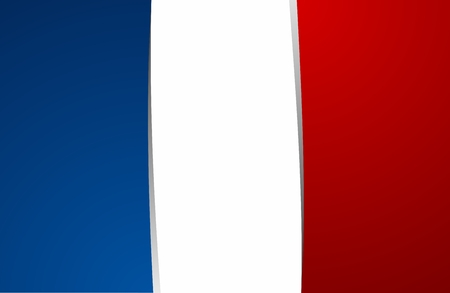 Creative Abstract Flag of France Backgroung Vector