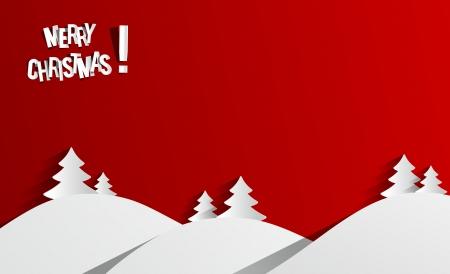 Creative Abstract Merry Christmas Card vector illustration 일러스트