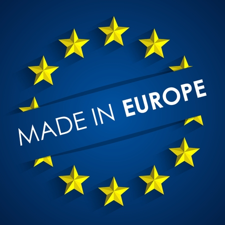 Made In Europe Badge vector illustration Vector