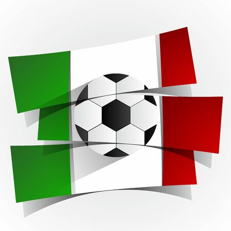 italia: Italia Football Team Banners illustration Illustration