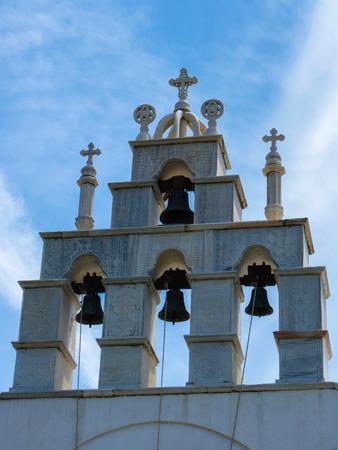 naxos: Beautiful church in Naxos island, Cyclades, Greece Stock Photo