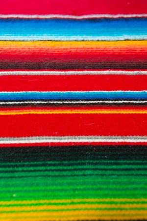 Kleurrijke Mexicaanse Poncho Achtergrond