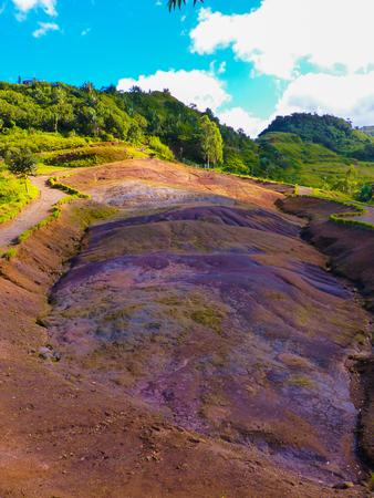 mauritius: Twenty-Three Colored Earth, Mauritius Island