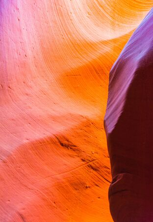 Antelope Canyon in the Navajo Reservation near Page, Arizona, USA