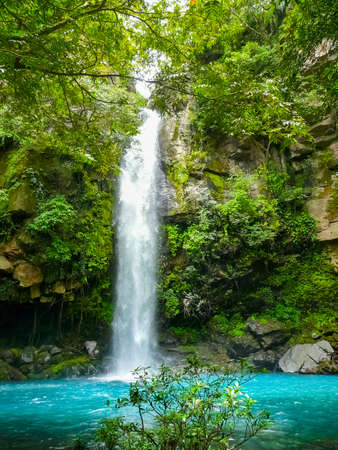 Catarata Escondida, Rincon de la Vieja national park, Ganacaste, Costa Rica Banque d'images