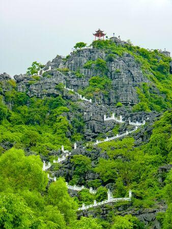 Hang Mua Pagoda in Ninh Binh, Vietnam