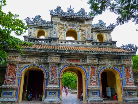 Part of Hue Citadel, Hue, Vietnam