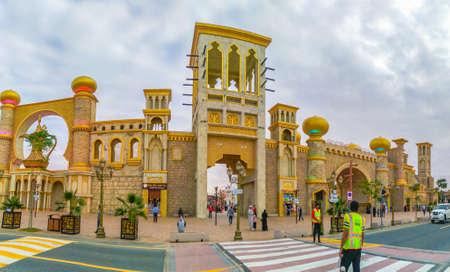 Dubai, United Arab Emirates - Junuary 24, 2020 : Global Village