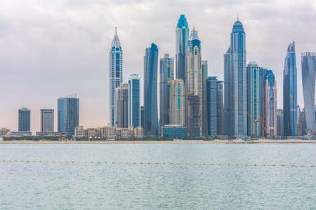 Dubai, United Arab Emirates, January 25th, 2020: Dubai Marina