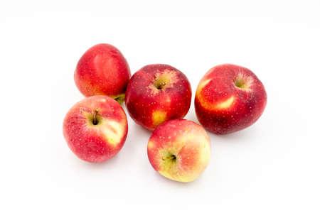 Red apples isolated on white background Reklamní fotografie