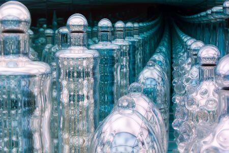 endless: Endless bottles Stock Photo