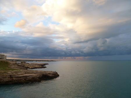 Polignano, Puglia, Italy Reklamní fotografie