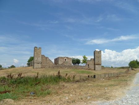 Castle Ruins Thessaloniki Greece