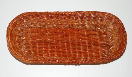 wood bread basket Reklamní fotografie