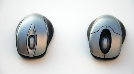 Pair of keyboard mice Stok Fotoğraf
