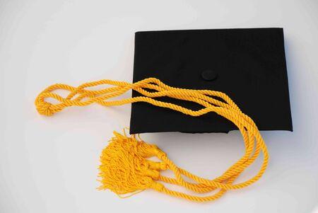 Graduation cap and cords