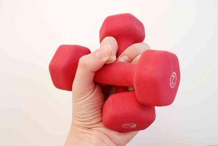 Hand weights Stock fotó - 2234768