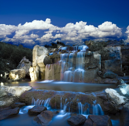fantasy waterfall Stock Photo - 10439570