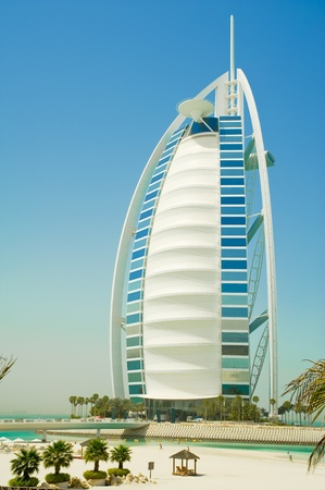 burj al arab in the emirates Editorial
