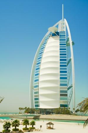 arab spring: burj al arab in the emirates Editorial