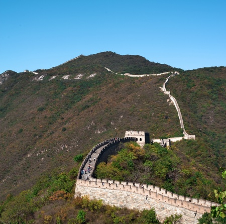 simatai: great wall Stock Photo