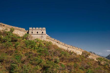 jinshaling: great wall Stock Photo