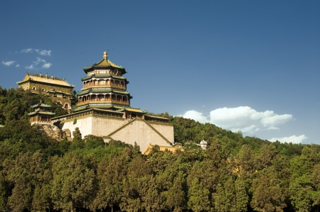 jinshaling: chinese architecture near the great wall