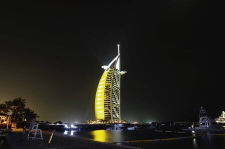 The World Famous Seven Star Burj Al Arab Hotel In Dubai