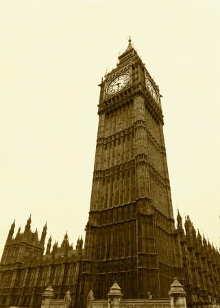 london big ben: Лондонский Биг-Бен монохромный