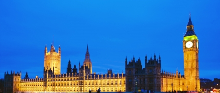 London Big Ben in the evening