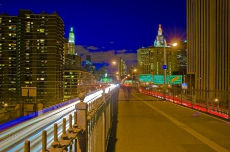 New York city, Brooklyn Bridge, USA photo