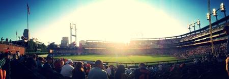 royals: Night game at Comerica Park. Detroit Tigers vs. Kansas City Royals