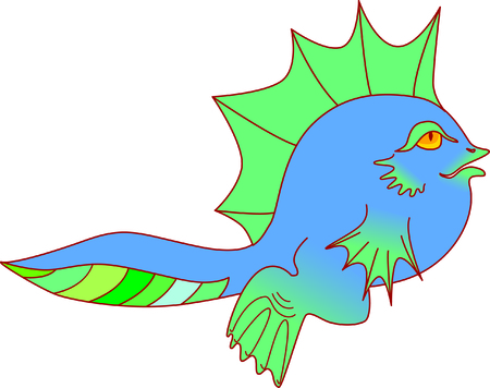 blue tadpole