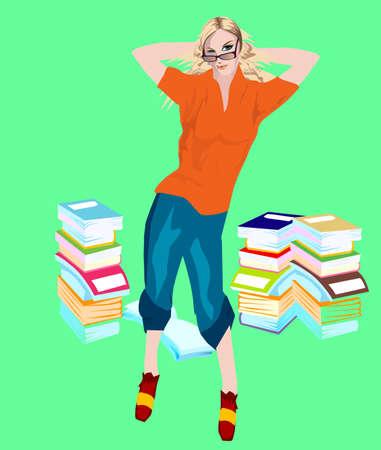 vie �tudiante: STUDENT Illustration
