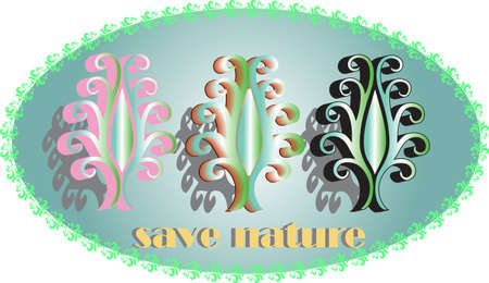 save nature Stock Vector - 10426908