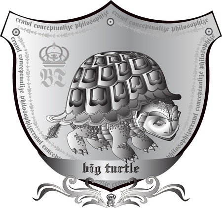 royal turtle Stock Vector - 10653623