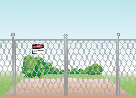 bush mesh: mesh fence