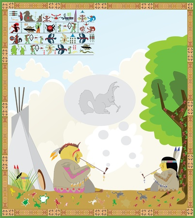 American Indian picture