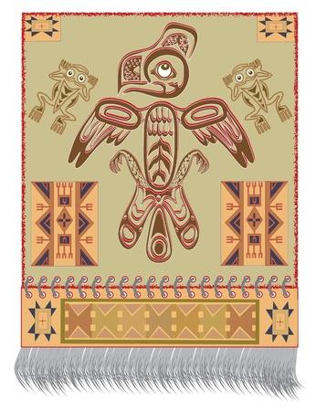 Native American Eagle Stock Vector - 13515363