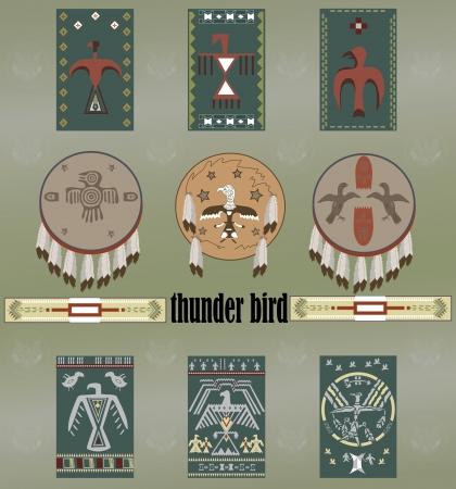 Native Americans thunder bird