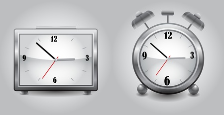 Clocks Illustration