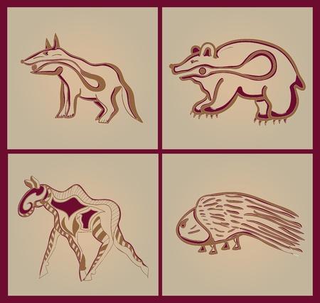 stílus: Indiai állatok