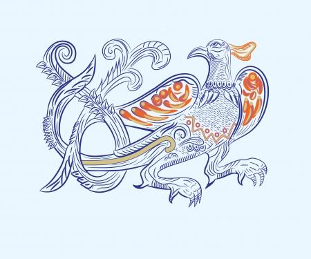 fire bird Stock Vector - 20008510