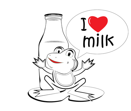 merry milk frog